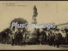 Estatua de d. josé zorrilla de valladolid