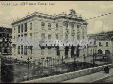 El banco castellano de valladolid