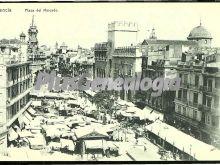 Plaza del mercado de valencia