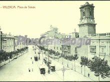 Plaza de tetuán de valencia