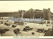 Plaza de toros y estación del norte de valencia