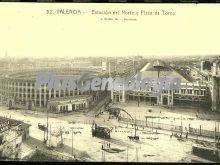 Estación del norte y plaza de toros de valencia