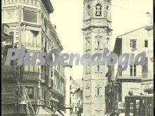 Plaza y torre de santa catalina de valencia