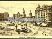 Plaza del caudillo de valencia