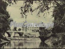 Puente sobre el río segura, murcia