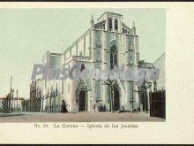 Iglesia de los jesuitas en la coruña