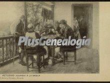 Jugando a la brisca, oviedo (asturias)