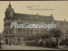Banco asturiano y hotel covadonga, oviedo (asturias)