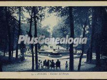 Surtidor del parque, oviedo (asturias)