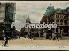 Calle fruela, oviedo (asturias)