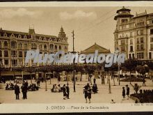 Plaza de la escandalera, oviedo (asturias)