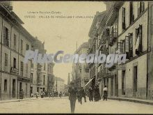 Calle de argüelles y jovellanos, oviedo (asturias)