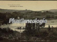 El río nalón, oviedo (asturias)