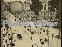 Calle de fruela y la diputación provincial, oviedo (asturias)