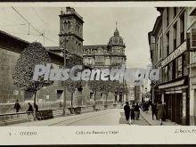 Calle ramón y cajal, oviedo (asturias)