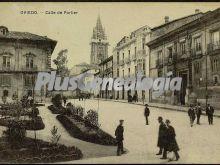 Calle de porlier, oviedo (asturias)
