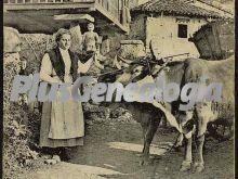 Una aldea de gijón, asturias
