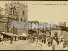 Pescaderias y tiendas de arte, gijón (asturias)