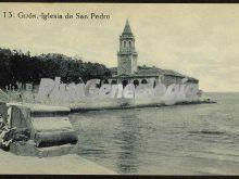 Iglesia de san pedro, gijón (asturias)