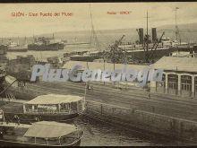 Gran puerto de musel, gijón (asturias)