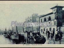 Muelle de oriente, gijón (asturias)