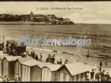 Playa de san lorenzo, gijón (asturias)