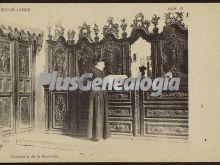 Cajonería de la sacristía de socuéllamos (ciudad real)