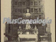 Retablo del altar mayor de socuéllamos (ciudad real)