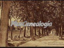 Camino del balneario Roqueta en Tona (Barcelona)