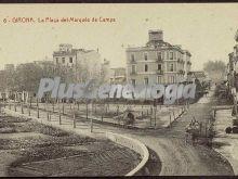 La plaça del marqués de camps de girona