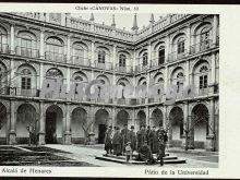 Patio de la Universidad de Alcalá de Henares (Madrid)