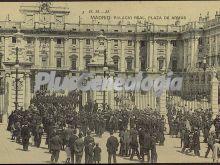 Palacio Real de Madrid: Plaza de Armas