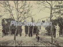 Jardines de la Plaza de Oriente de Madrid