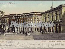 Plaza de Oriente. Teatro Real en Madrid