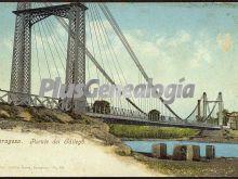 Puente del sállego de zaragoza