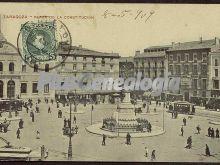 Plaza de la constitución de zaragoza