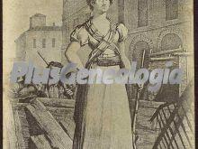 La condesa de bureta en las ruinas de zaragoza (1808 - 1809)