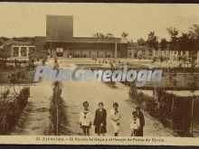El rincón de goya y parque de primo de rivera de zaragoza