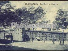 Castillo de alfagería de zaragoza