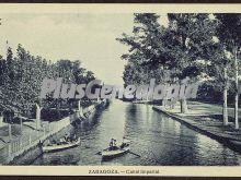 Canal imperial de zaragoza
