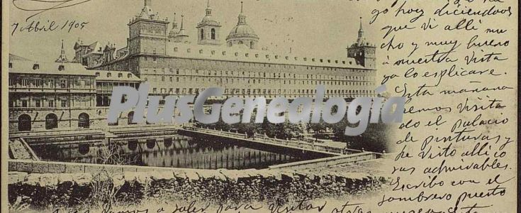 Fotos antiguas de EL ESCORIAL