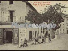 Bazar de borobio y calle antonio pérez de alhama de aragón (zaragoza)
