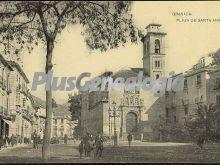 Plaza de santa ana en córdoba