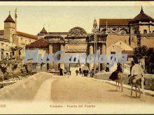 Puerta del puente en córdoba