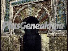 Puerta del mirahb de la mezquita de córdoba