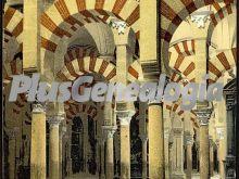 Laberinto de columnas de la mezquita de córdoba