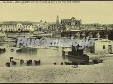 Vista general del río guadalquivir y los molinos árabes
