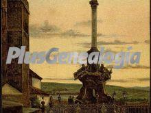El triunfo columna dedicada a san rafael en córdoba