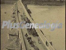 Vista área del puente romano de córdoba