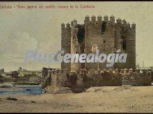Vista general del castillo romano de la calahorra